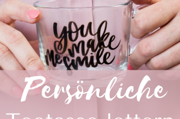 Do-It-Yourself Lettering Tasse