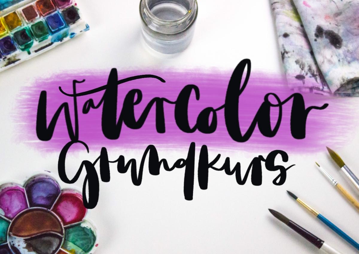 Watercolor Grundkurs