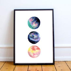 Galaktische Monde