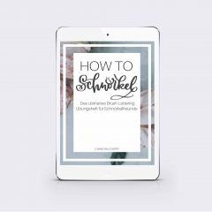 "eBook ""How to Schnörkel"""