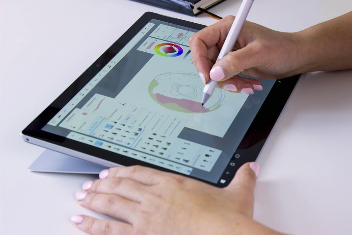 Studio-Modus des Microsoft Surface Pro