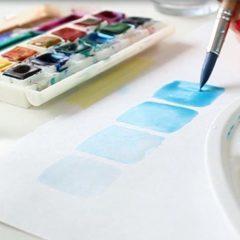 Online Watercolor Grundkurs