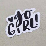 K800_Sticker Fotos Go Girl