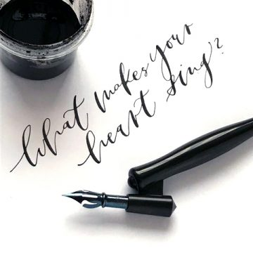 Moderne Kalligrafie für Anfänger