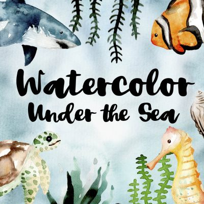 "Online Watercolor ""Under the Sea"""