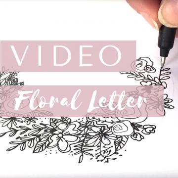 Floral Lettering