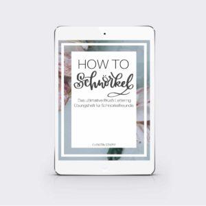 """eBook """"How to Schnörkel"""""""