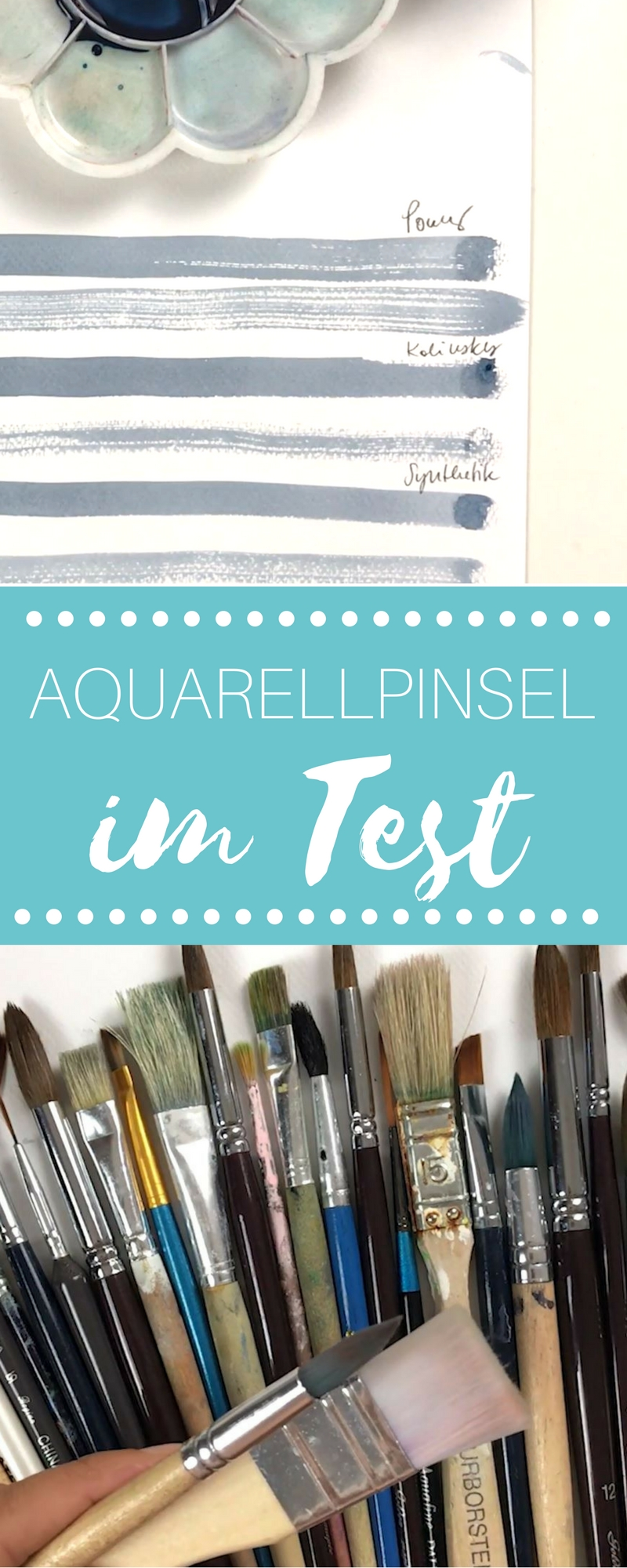 Aquarellpinsel im Test