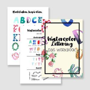 Online Watercolor Lettering Kurs